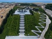 Chiêm ngưỡng Khu tưởng niệm Gạc Ma từ trên cao