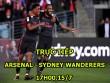 Chi tiết Arsenal – Sydney Wanderers: Liên tiếp xà ngang, cột dọc (KT)