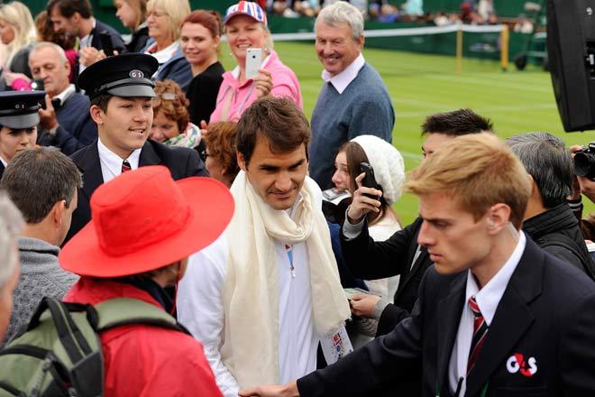 """Chi tiết Federer - Cilic: """"Tàu tốc hành"""" vẫn là số 1 (Chung kết Wimbledon) - 12"""