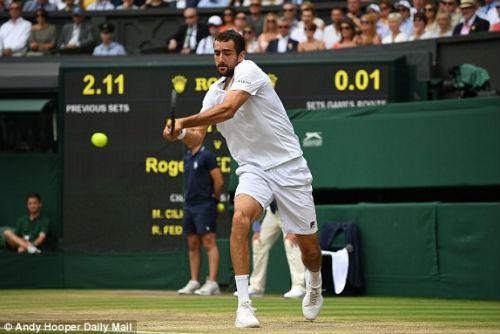 """Chi tiết Federer - Cilic: """"Tàu tốc hành"""" vẫn là số 1 (Chung kết Wimbledon) - 4"""