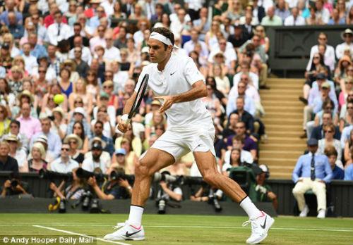 """Chi tiết Federer - Cilic: """"Tàu tốc hành"""" vẫn là số 1 (Chung kết Wimbledon) - 7"""