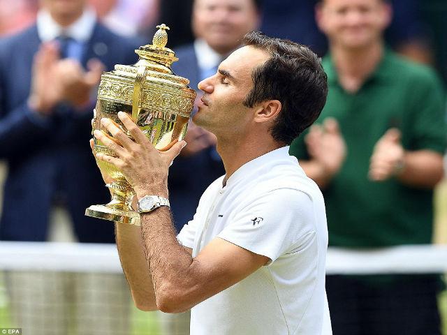 Wimbledon 2017: Federer rạng rỡ, Cilic khóc nức nở