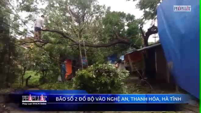 Ảnh: Hà Tĩnh, Nghệ An, Thanh Hóa tan hoang sau bão số 2