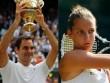 """BXH tennis 17/7: Federer lên số 3, ngạc nhiên với """"nữ hoàng"""" lạ mặt"""