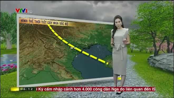 Dự báo thời tiết VTV 18/7: Bắc Bộ tiếp tục mưa lớn, lũ trên các sông đạt đỉnh