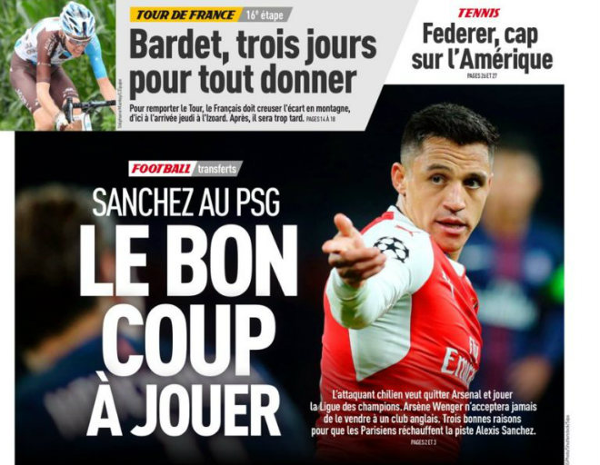 Arsenal đẩy Sanchez 60 triệu bảng sang PSG: MU & Man City hết cửa - 2