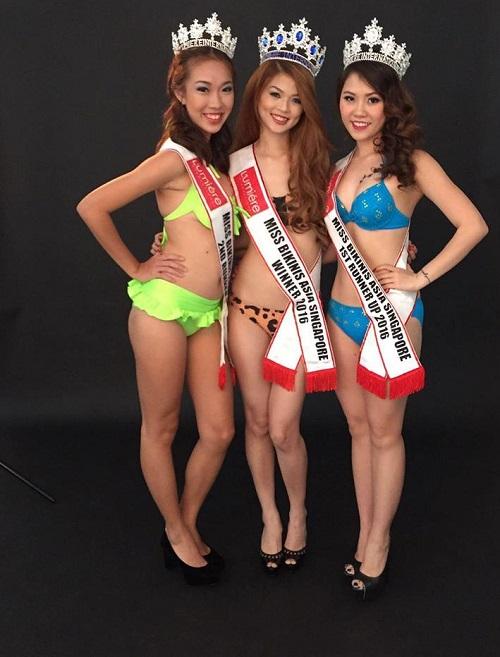 Vỡ mộng vì mặt mộc của Hoa hậu Bikini châu Á 2016 - 3