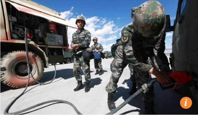 Vì sao TQ đưa hàng chục ngàn tấn vũ khí áp sát Ấn Độ? - 2