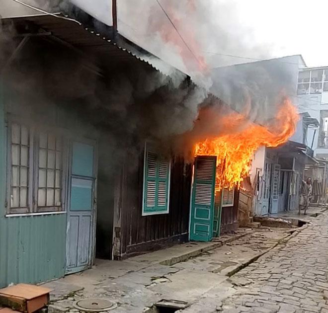 Nguy cơ cháy nổ nhà phố cao hơn chung cư.