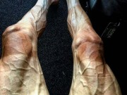 """Hình ảnh gây choáng: Đua xe đạp số 1 thế giới, đôi chân """"biến dạng"""""""