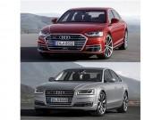 Audi A8 2018 so với A8 2014 có điểm gì khác biệt?