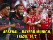 Arsenal – Bayern Munich: Lacazette so tài James