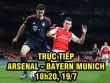 Chi tiết Arsenal - Bayern Munich: Giằng co loạt đấu súng (KT)