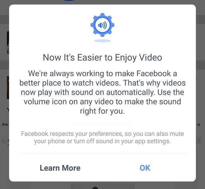 Cách tắt âm thanh video tự phát trong ứng dụng Facebook - 1