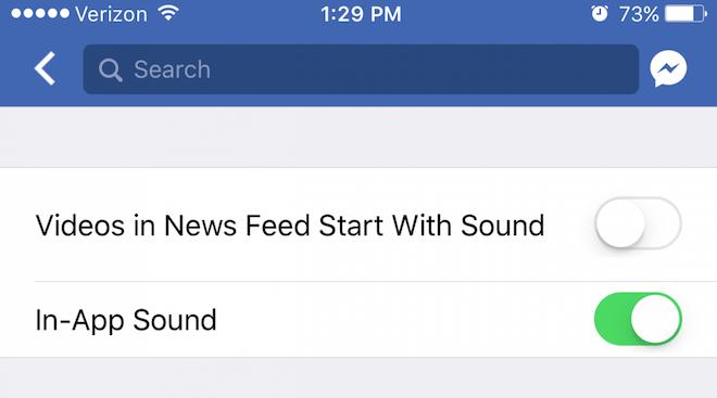 Cách tắt âm thanh video tự phát trong ứng dụng Facebook - 7