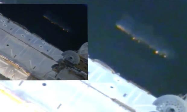 """Video: Phi thuyền khổng lồ """"theo dõi"""" trạm vũ trụ ISS - 2"""