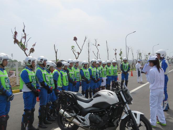 Chuyên gia Nhật Bản đào tạo kỹ năng LXAT cho Cảnh sát giao thông - 4