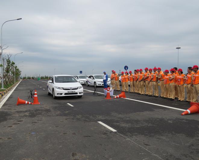 Chuyên gia Nhật Bản đào tạo kỹ năng LXAT cho Cảnh sát giao thông - 3