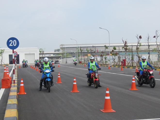 Chuyên gia Nhật Bản đào tạo kỹ năng LXAT cho Cảnh sát giao thông - 6