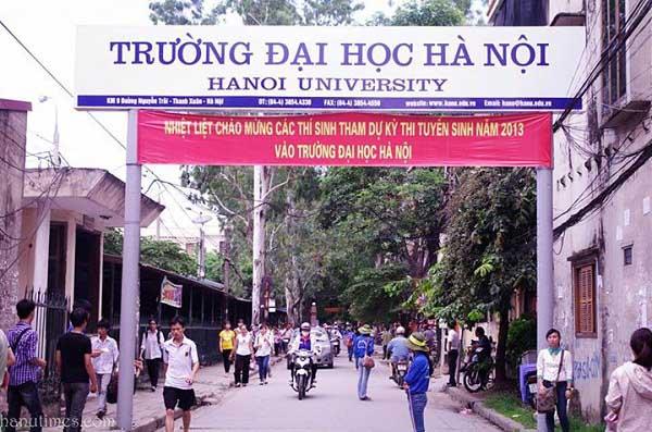 Danh sách trúng tuyển Đại học Hà Nội - 1