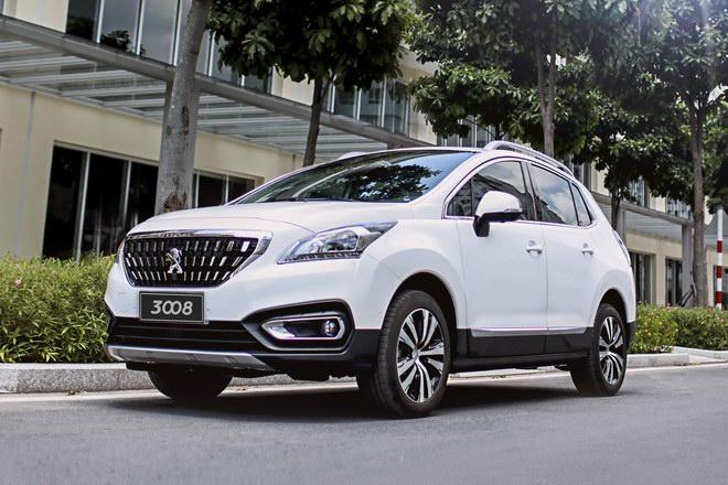 Peugeot 3008 bản nâng cấp về Việt Nam giá 1,11 tỷ đồng - 1