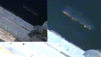 """Video: Phi thuyền khổng lồ """"theo dõi"""" trạm vũ trụ ISS"""