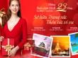 Trang sức DOJI ưu đãi 23% và tặng cơ hội du lịch châu Á