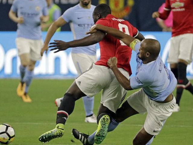 MU thắng lớn Man City, Mourinho chỉ coi như trận đá tập - 3
