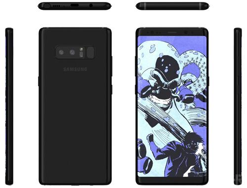 NÓNG: Ảnh chi tiết Galaxy Note 8, có camera kép mặt sau - 1
