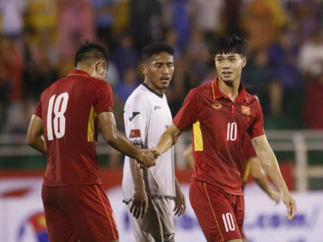 U23 Việt Nam - U23 Macau: Bàn thắng như mưa, vượt lên dẫn đầu - 2