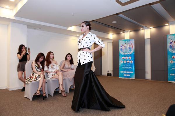 Phớt lờ mọi ồn ào, Võ Hoàng Yến làm giám khảo cùng MC Tùng Leo - 4