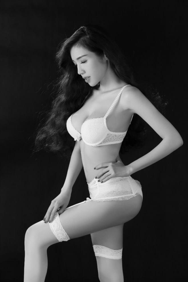 Tuyệt chiêu để có ảnh nội y cực khêu gợi cùng Elly Trần - 8