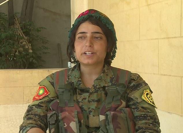 Nữ nô lệ tình dục cầm súng thề trả thù khủng bố IS - 2