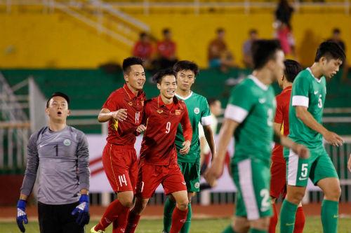 Chi tiết U23 Việt Nam - U23 Macau: Chiến thắng đậm đà (KT) - 4