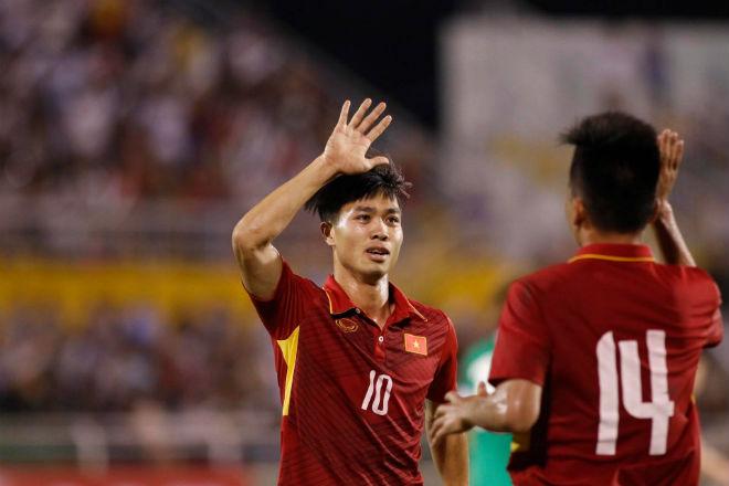 U23 Việt Nam: Công Phượng - Văn Toàn tung hứng tạo siêu phẩm - 1