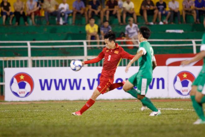 U23 Việt Nam: Công Phượng - Văn Toàn tung hứng tạo siêu phẩm - 3