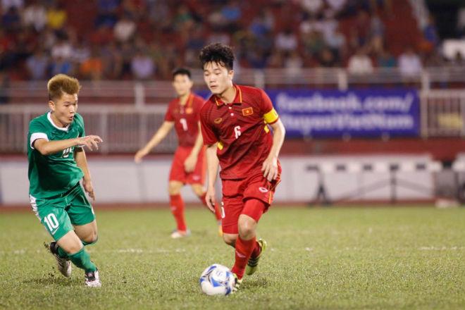 U23 Việt Nam: Công Phượng - Văn Toàn tung hứng tạo siêu phẩm - 5