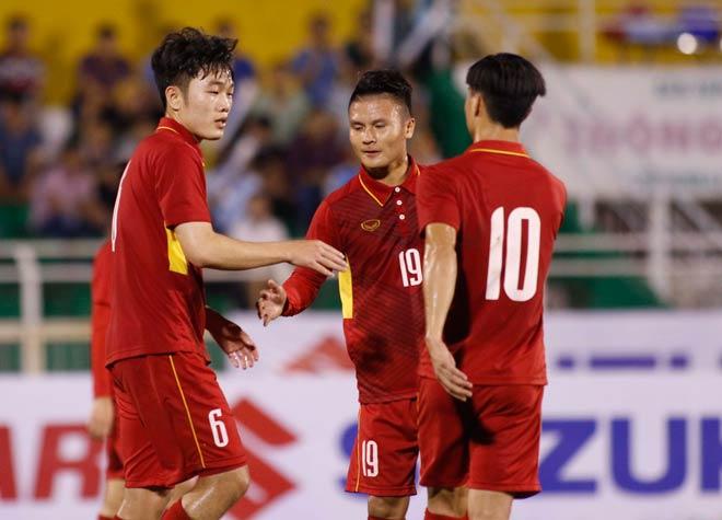 Sếp mới của Công Phượng trổ tài, U23 Việt Nam thắng vang dội - 8