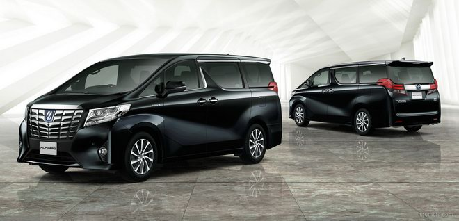 Xe 7 chỗ Toyota Alphard sắp ra mắt Việt Nam? - 1