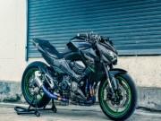 """Xe máy - Xe đạp - Hoành tráng Kawasaki Z800 bản độ """"tê giác"""""""