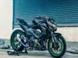 """Hoành tráng Kawasaki Z800 bản độ """"tê giác"""""""