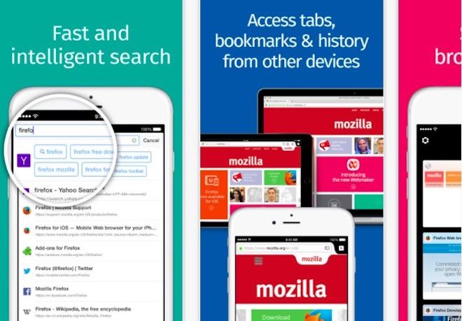 Firefox 8.0 cho iPhone, iPad có gì mới? - 1