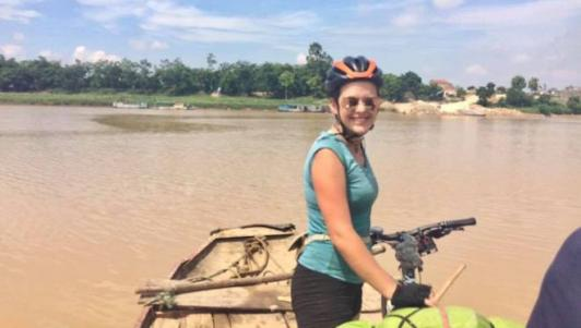 Tin mới vụ nữ du khách Anh mất xe đạp khi phượt xuyên Việt