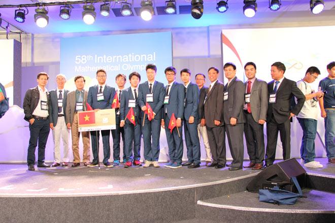 """Lần đầu tiên Việt Nam đoạt giải """"khủng"""" tại kỳ Olympic Toán quốc tế - 1"""