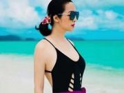 """Mỹ nhân Việt ngoại tứ tuần vẫn nóng """"hừng hực"""" với bikini"""
