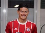 Cú áp phe Bayern - James Rodriguez: MU, Chelsea phải tiếc nuối