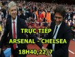 TRỰC TIẾP bóng đá Arsenal - Chelsea: Costa bị cấm cửa, Lacazette thay thế Sanchez