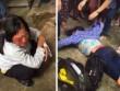 HN: Nghi bắt cóc trẻ con, 2 người phụ nữ bị dân vây đánh tả tơi