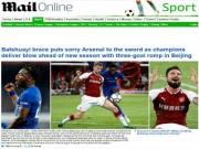 Báo chí Anh: Chelsea hạ Arsenal, Morata bị SAO 35 triệu bảng đe dọa