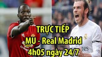 "TRỰC TIẾP MU - Real Madrid: Sai lầm của ""bom tấn"""